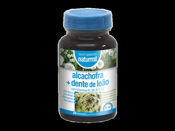 Alcachofa + Diente de León 60 comprimidos Naturmil.