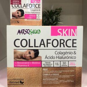 Colageno y ácido hialurónico 30 sobres + crema collaforce