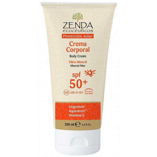 Crema Solar Corporal Mineral SPF50+ Zenda