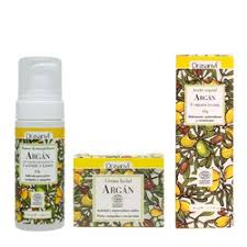 Crema argan pack regalo serum + mousse desmaquillante
