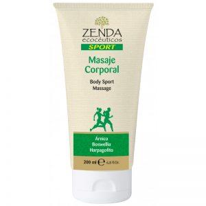 Crema masaje corporal 200ml. Zenda