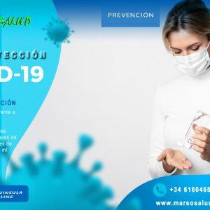 Cuidados y prevención covid-19