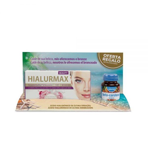 HIALURMAX 30 CAP. + BETA-CAROTENO DIETMED