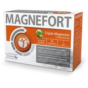 Magnefort 30 comp triple magnesio y vitamina B6