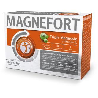 Magnefort 30 comp triple magnesio y vitamina B6