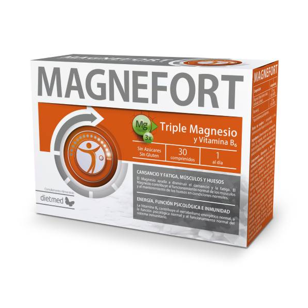 Magnefort 30 comprimidos Dietmed