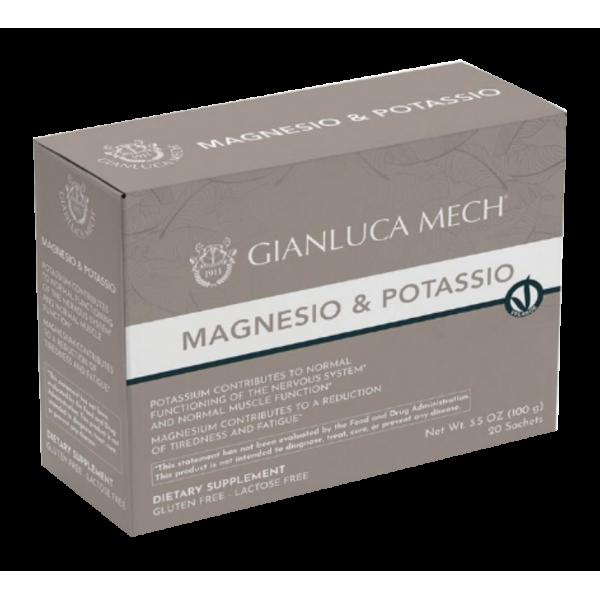 Magnesio y Potasio gianluca mech 20 sobres