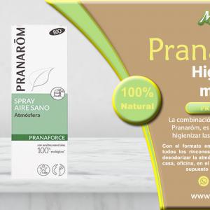 banner Pranaróm Spray aire sano