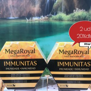mega royal immunitas 20 ampollas Pack 2 unidades total 40 ampollas