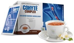 Colageno magnesio ácido hialurónico y vitamina C, Cohyte complex 20 sobres.