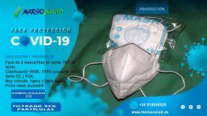pack bolsa de 10 unidades de mascarillas NK95 clasificacion FPP2